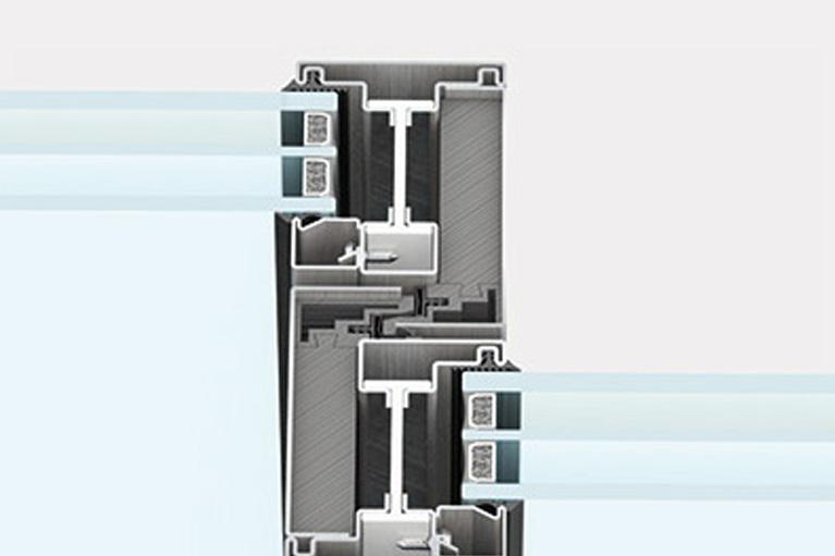 Secco sistemi EBE 85 AS nodo centrale ridotto