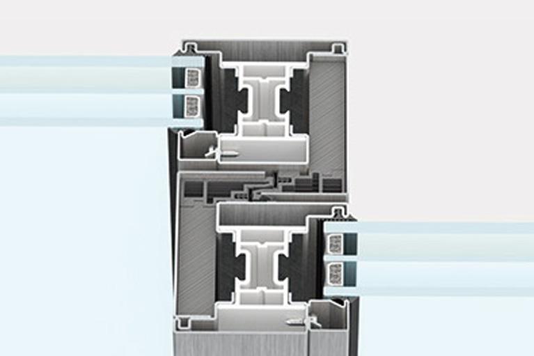 Secco sistemi EBE 85 AS nodo centrale standard